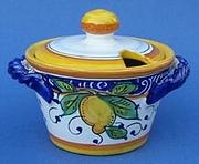 Limone Cheese Sugar Bowl