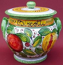 Frutta Mista Biscotti Cookie Jar