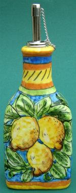 Italian Ceramic Oil Bottles
