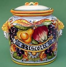 Frutta Toscana Biscotti Jar