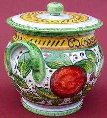 Frutta Mista Biscotti Jar - Large - Side