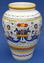 Ricco Deruta Vase