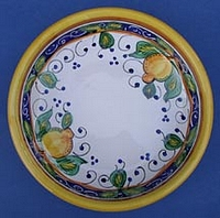 Limone Individual Pasta Bowl