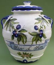 Olio d' Oliva Olive Jar