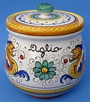 Raffaellesco Garlic Jar