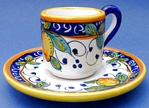 Limone Espresso Cup and Saucer