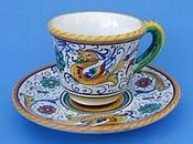 Raffaellesco Espresso Cup and Saucer