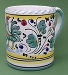 Green Orvieto Mug