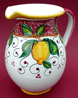 Limone Rosso Pitcher