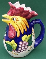Frutta Vincent .75 Rooster Pitcher