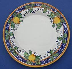 Limone Salad Dessert Plate