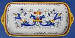 Ricco Deruta Large Rectangular Tray