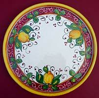 Limone Rosso Serving Platter