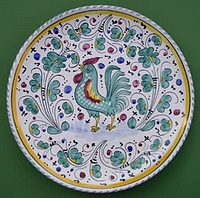 Green Orvieto Wall Plate