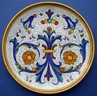 Ricco Deruta Wall Plate #2