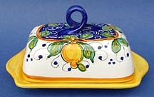 Limone Butter Dish with Cover