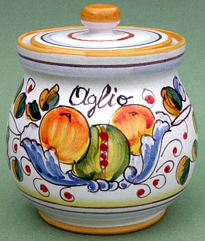 Frutta Miele Garlic Jar