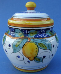 Limone Garlic Jar