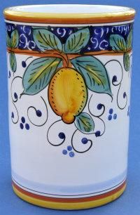Limone Wine Bottle Utensil Holder - Large
