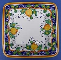 Limone Square Plate