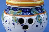 Limone Garlic Jar - Back