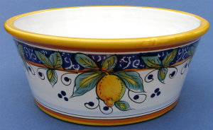 Limone Dog Bowl