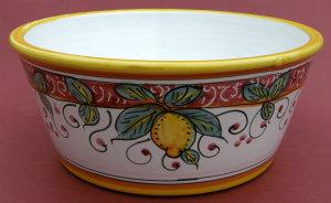 Limone Rosso Dog Bowl