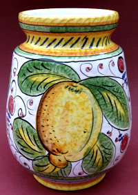 Frutta Mista Utensil Holder - Large - reverse side
