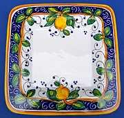 Limone Square Plate 3