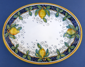 Limone Oval Serving Plate