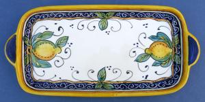 Limone Medium Rectangular Tray