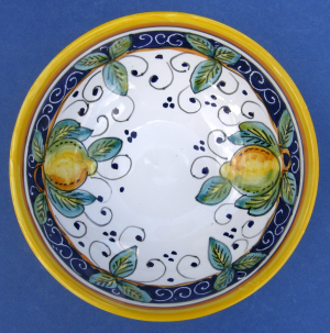 Limone Cereal Bowl - inside