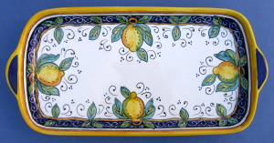 Limone Large Rectangular Tray