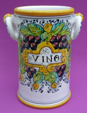 Uva Toscana Wine Bottle Holder