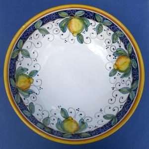 Limone Pasta Bowl - Inside