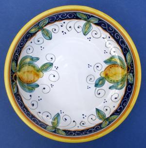 Limone Individual Pasta Bowl 2 - Inside