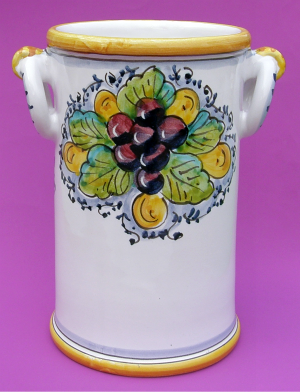 Uva Toscana Wine Bottle Holder - back