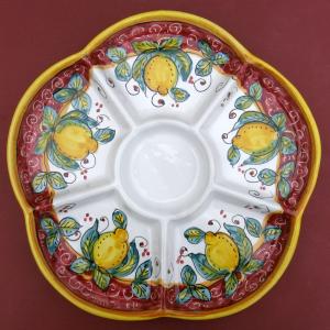 Limone Rosso Antipastiera Dish