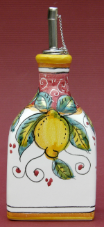Limone Rosso Oil Bottle