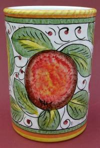 Frutta Mista Wine Bottle Utensil Holder - Large - reverse