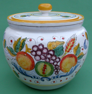 Frutta Mista Biscotti Jar