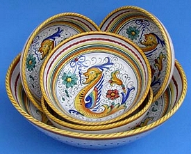 Raffaellesco Italian Pasta Bowl Set Special - 5pc
