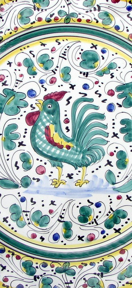 Italian Ceramic Store - Green Orvieto